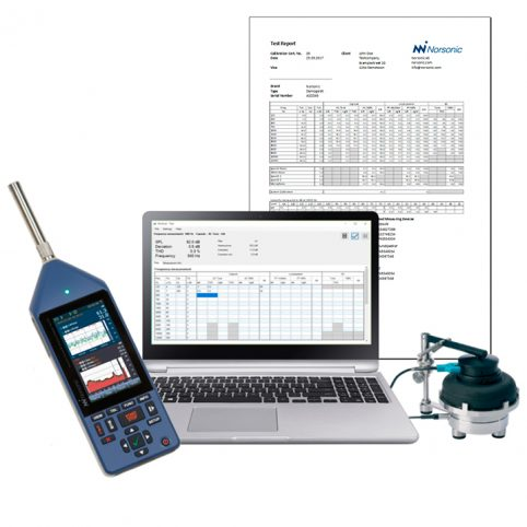 Audiometer Calibration System NorAcal
